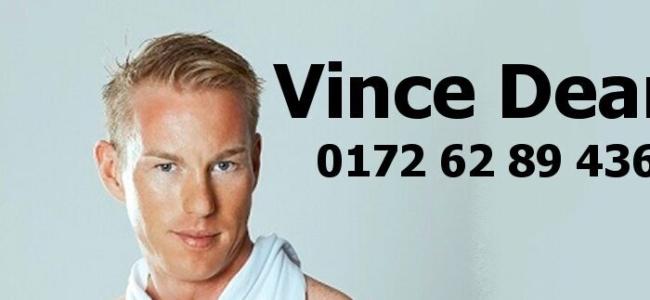 JGA, der Junggesellinnenabschied mit dem heißen Stripper Vince aus Berlin buchen.